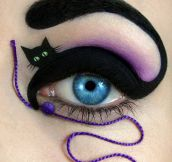 Awesome eye make up…