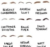 Famous eyebrows…