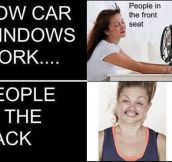 How car windows work…