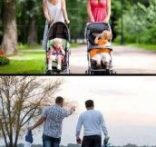 Mothers vs. Fathers…