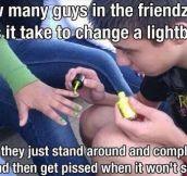 Guys stuck in the friendzone…
