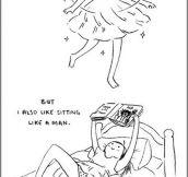 I like skirts…