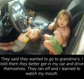 Things you should never say to your kids…