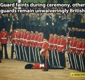 British guards…