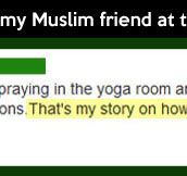 Accidental yoga class…