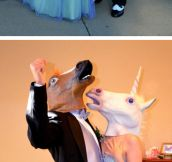 A wedding like no other…