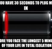 What low battery on an iPhone really means…