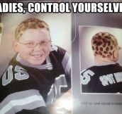 Ladies, control your panties…