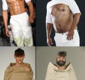 The latest in men's fashion…