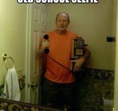 Old School Selfie…