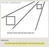 Really good optical illusion…