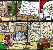 Santa rage…