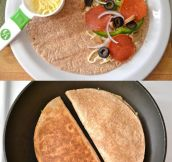 The Pizzadilla…