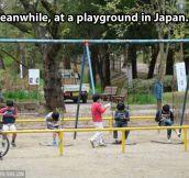 Japanese playground…