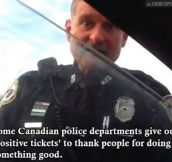 Good Guy Canadian Officer…