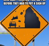 Beware of the falling cows…
