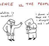 Science vs. The People…