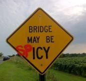 Bridge may be…