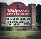 Parents need back to school supplies too…