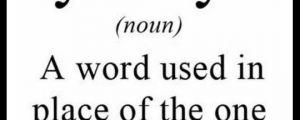 Synonym…