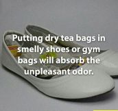The dry tea solution…