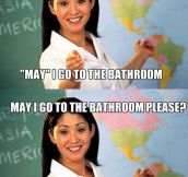 We all had a teacher like her…