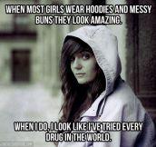 Me and hoodies…