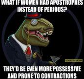 Dinosir has a point…