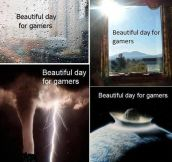 It's always a beautiful day…
