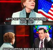 Julie Andrews is my spirit animal
