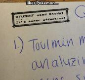 My Teacher Really Likes Pokemon