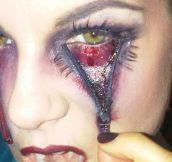 Halloween makeup…