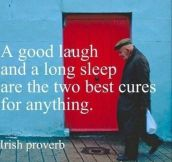 The best cures for everything…