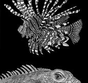 The most detailed animal drawings…
