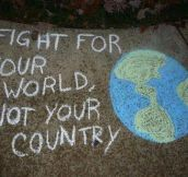 Fight for your world…