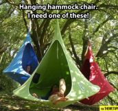 Hanging hammock chair…