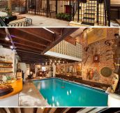 The most beautiful indoor pool you'll see today…