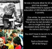 This man deserved a Nobel Prize…