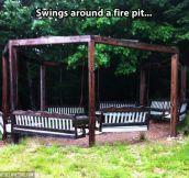 Swing paradise…