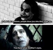 The Joker is right…