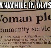 Oh, Alaskan women…