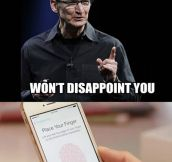 How it happened with Apple's Touch ID…
