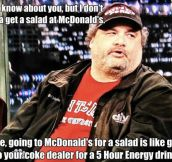 Artie Lange's input on dieting is spot on…