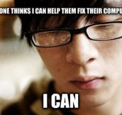 Asian stereotype problems…