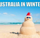Cold days in Australia…