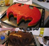 The batcake…