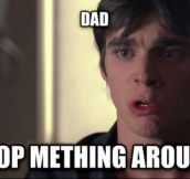 Dammit, Walter Jr…