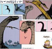 Calvin's imagination…
