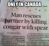 Typical Canadian news…