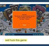 Unfair Club Penguin…